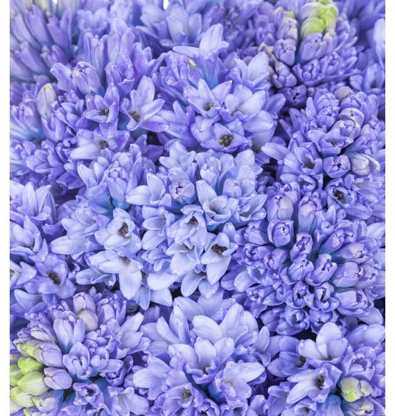 Композиция в вазе Голубое небо – фото № 4
