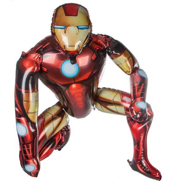 Ходячая фигура Железный человек (112см) printio пес железный человек