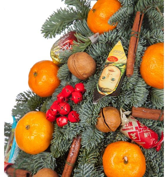 Ёлка Сладкий мандарин (35см, 80см, 150см) – фото № 2