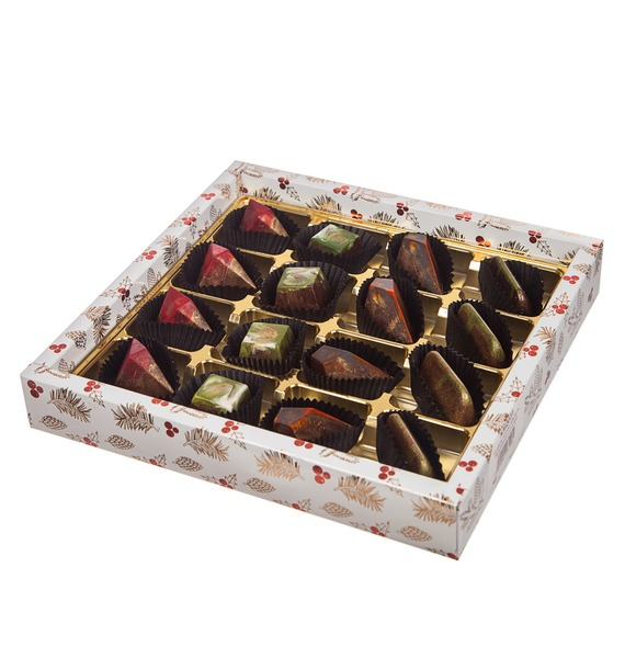 Конфеты ручной работы из бельгийского шоколада Очарование зимы – фото № 2