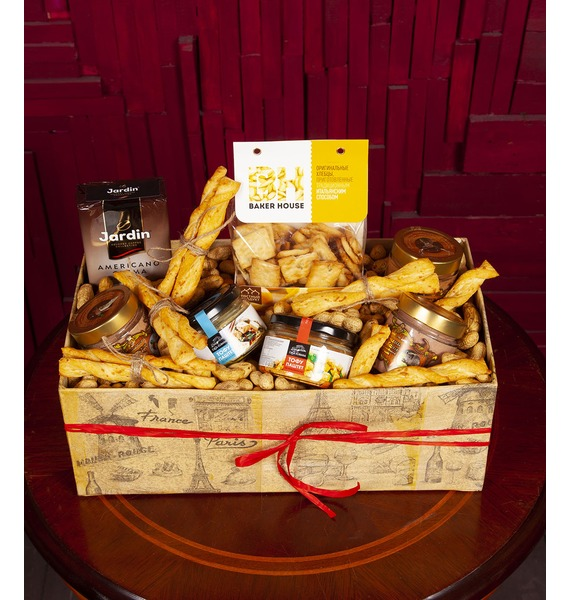 Фото - Подарочная коробка Ассорти паштетов подарочная коробка ангел