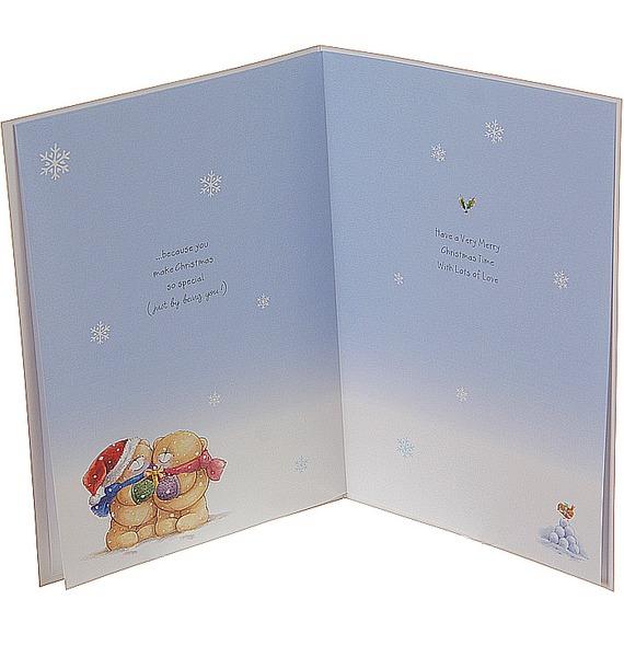 Открытка Кому-то особенному в Рождество в конверте (Hallmark, Англия) – фото № 3
