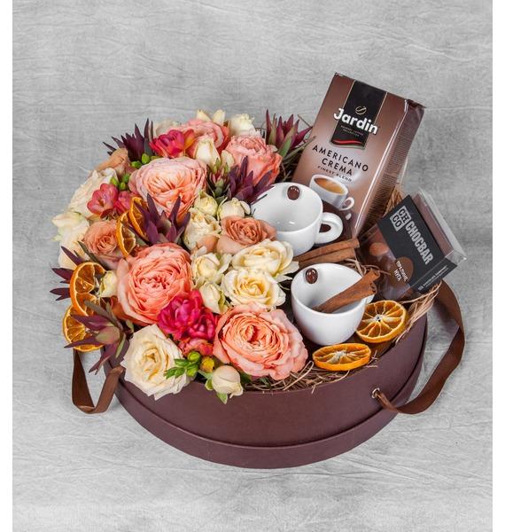 Подарочная коробка Кофейный аромат – фото № 1