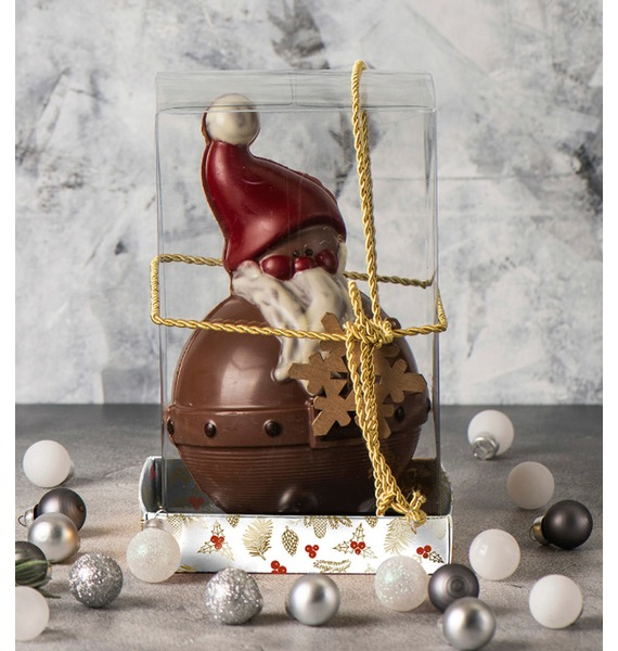 Шоколадная фигурка Снеговик – фото № 1