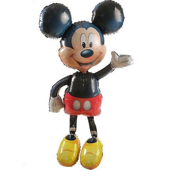 Воздушный шар Веселый Микки (132см) воздушный шар fo 10pcs lot