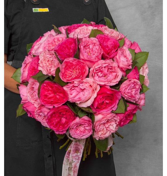 Букет из пионовидных роз Великолепие (15, 25 или 51)