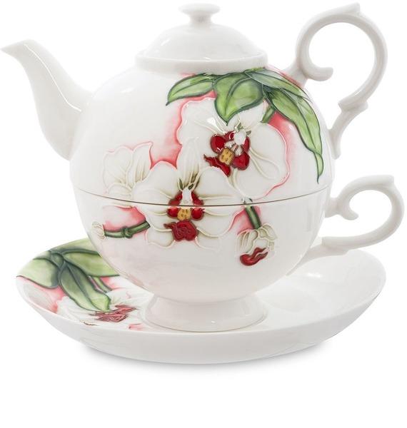 Чайный набор Королевская орхидея (Pavone) набор чайный 12 пр синий павлин 250 мл под уп 968992 page 2
