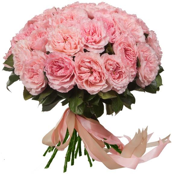 Букет из пионовидных роз Mayras Rose (15, 25 или 51) – фото № 2