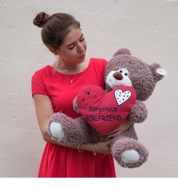 Мягкая игрушка Мишка Альвисс (47 см) игрушка мягкая мишка малышка