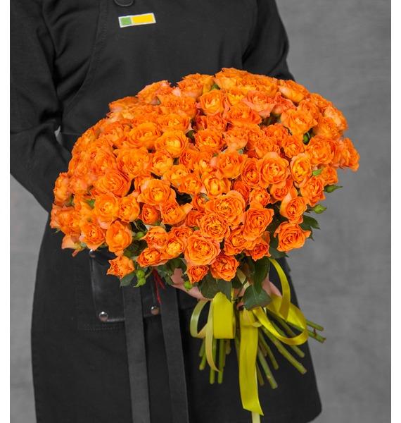 Букет Озорной апельсин (25, 51 или 101) – фото № 1