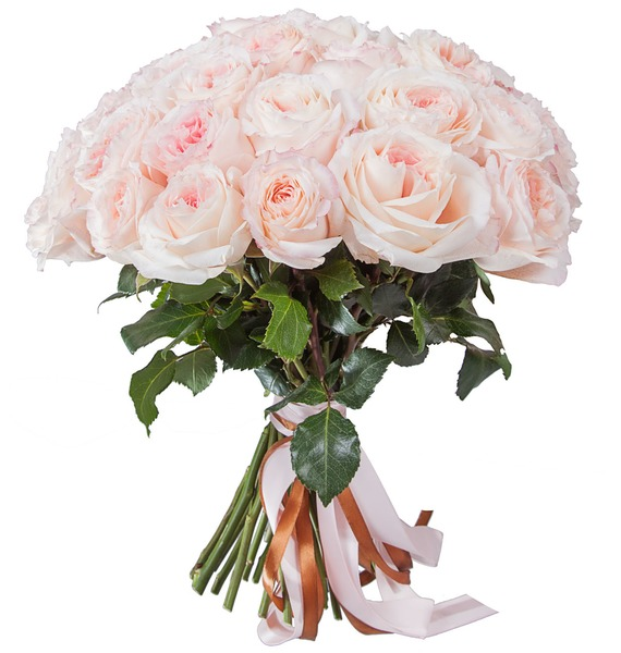 Bouquet of pion-shaped roses Mayras Bridal (15, 31 or 51) – photo #5