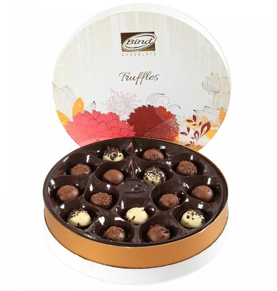 Набор шоколадных конфет Трюфель, 200гр лен сантехнический 200гр