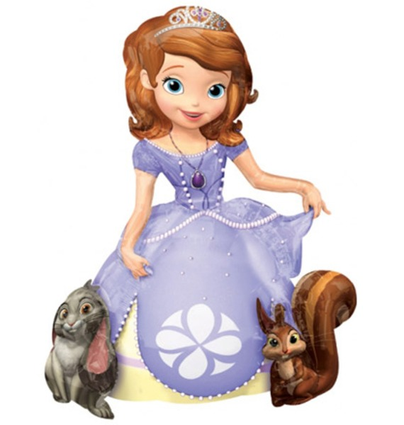 Ходячая Фигура Принцесса София (112 см) ходячая фигура принцесса софия 112 см