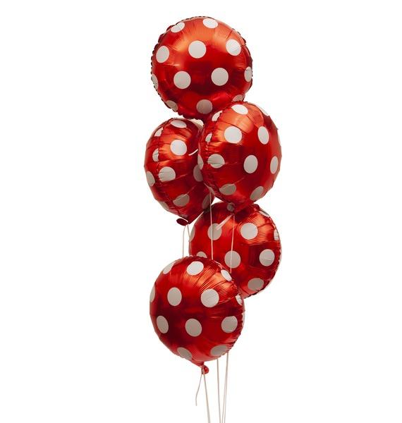 Букет шаров Обаяние (5 или 9 шаров)