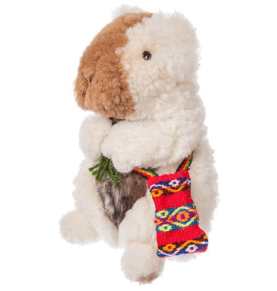 Фото - Игрушка из меха альпаки, большая (хомяк белый) игрушка подушка игрушка щука большая 93 10 12см