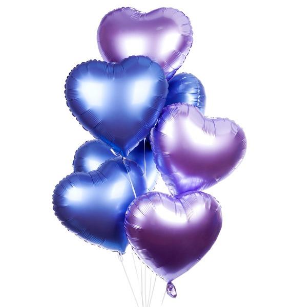 Букет шаров Признание (7 или 15 шаров) – фото № 1