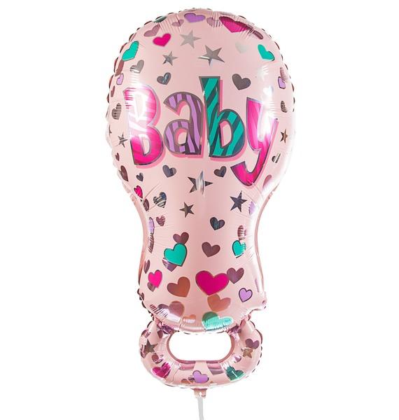 Воздушный шар Соска для девочки (81 см) цена