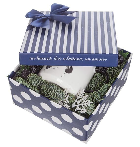 Подарочная коробка С заботой о нём – фото № 4