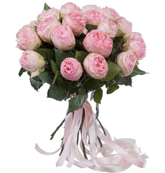 Букет из пионовидныз роз Bridal Piano (15, 25 или 51) – фото № 2