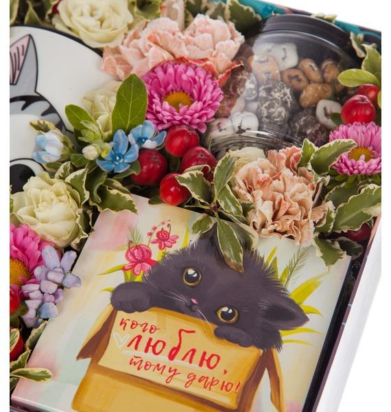 Подарочная коробка Любимой кошечке – фото № 3
