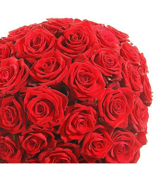 Композиция из 201 розы Мишень Купидона – фото № 5