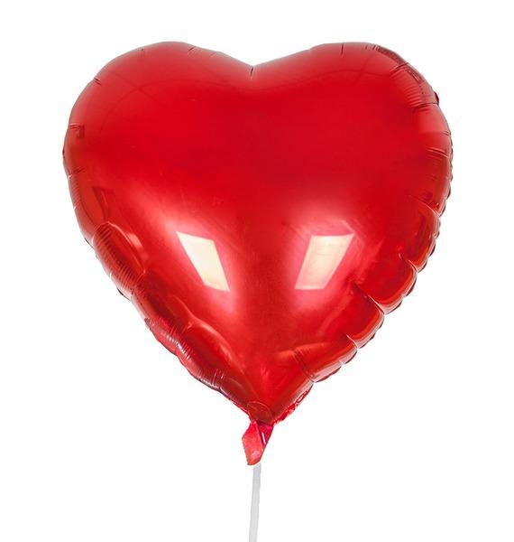 """Воздушный шар """"Сердце"""" (81 см)"""