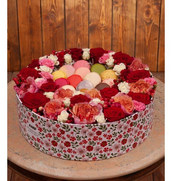 Подарочная коробка Цветочная опера