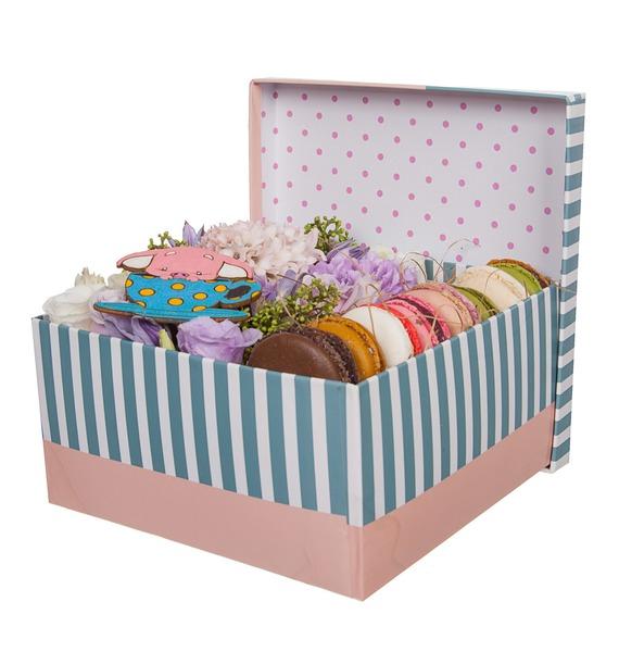 Подарочная коробка Сладкий комплимент – фото № 4