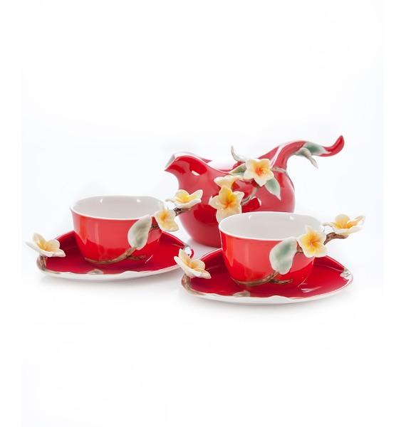 Чайный набор на 2 персоны Франжипан Pavone – фото № 1