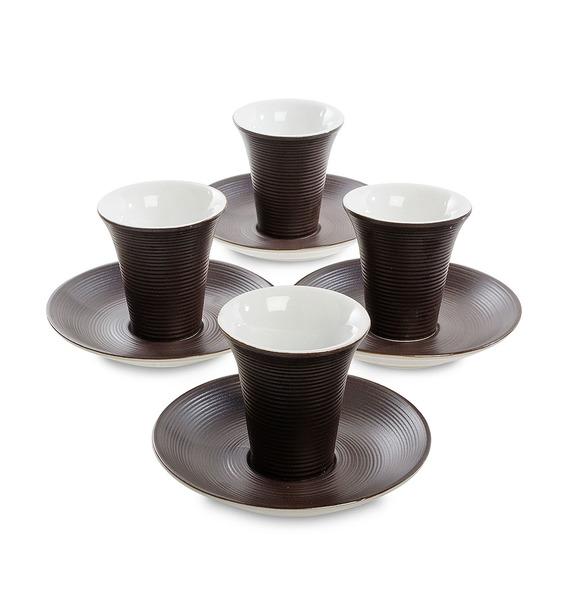 Кофейный набор на 4 персоны Колумбия для двоих игра тигрес набор посуды ромашка на 4 персоны 39081
