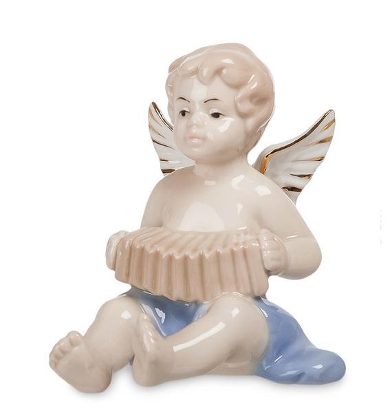 Статуэтка Ангелочек-музыкант (Pavone) jp 147 17фигурка девочка pavone