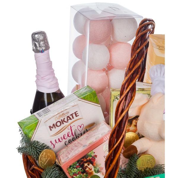 Подарочная корзина Званный ужин (Игристое вино в подарок) – фото № 2