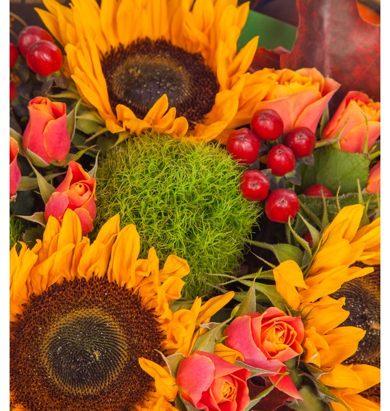 Подарочная корзина Осенний вечер (Бренди в подарок) – фото № 2