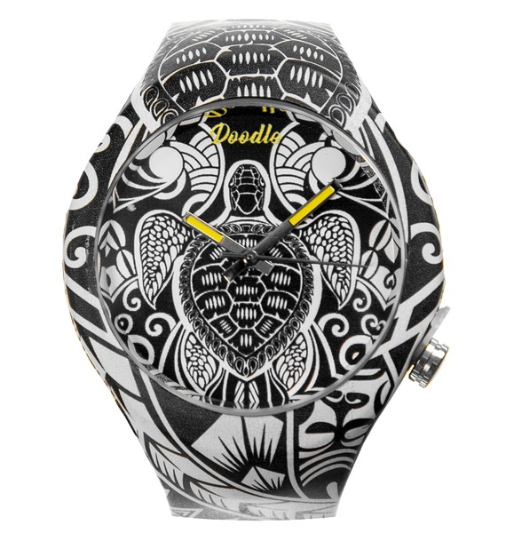 Часы Doodle Черепахи Маори – фото № 1
