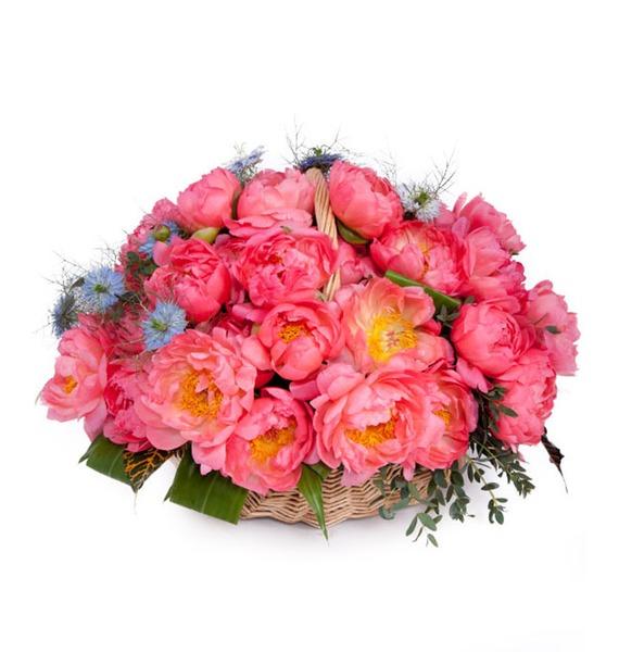 Композиция из пионов Незабываемая (31, 101, 201) композиция cappucino 101 201 301 роза