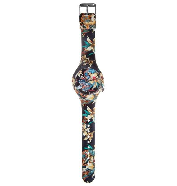 Часы Doodle Орхидеи и дракон – фото № 3