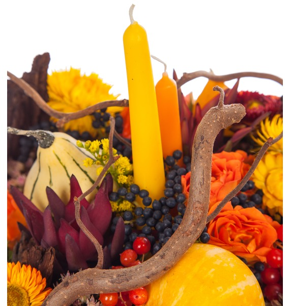 Подарочное кашпо Теплая осень – фото № 2