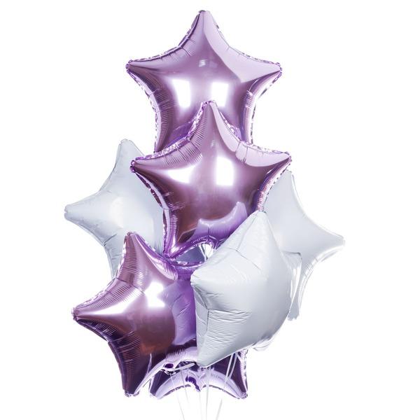 Букет шаров Звезды (7 или 15 шаров)