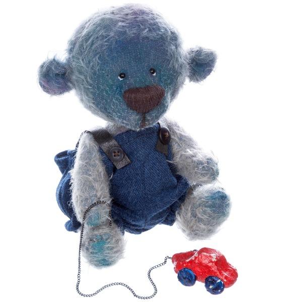 Игрушка ручной работы Мишка Андрюшка игрушка