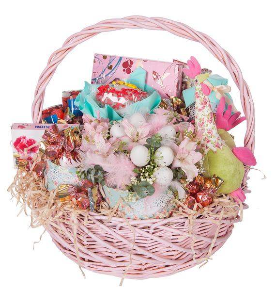 Подарочная корзина Улыбка апреля – фото № 5