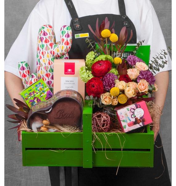 Подарочное кашпо Пробуждение весны подарочное кашпо для крепкого здоровья