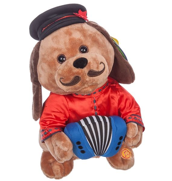 Музыкальная игрушка Собачка Ловелас huile игрушка музыкальная собачка с телефоном
