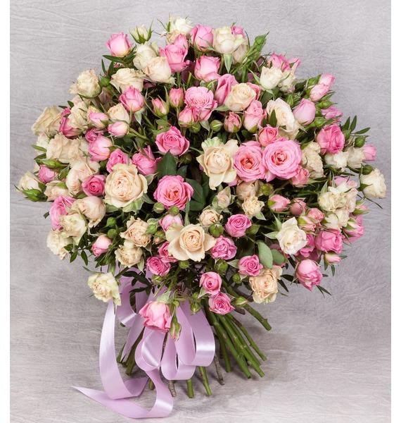 """Букет """"Тихая гавань"""" (25, 35, 51 роза) цена"""
