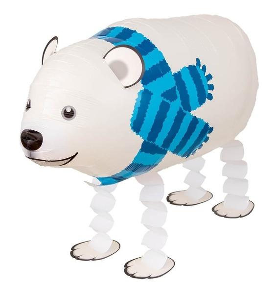 """Ходячая Фигура """"Полярный медведь"""" (71 см) вывертапки хаски полярный медведь 1toy хаски полярный медведь текстиль белый серый 28 30 см"""