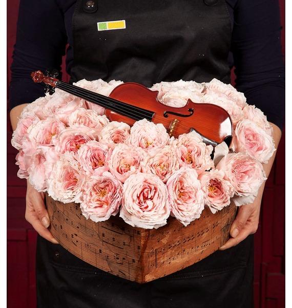 Фото - Композиция Скрипка сувенир скрипка музыкальный