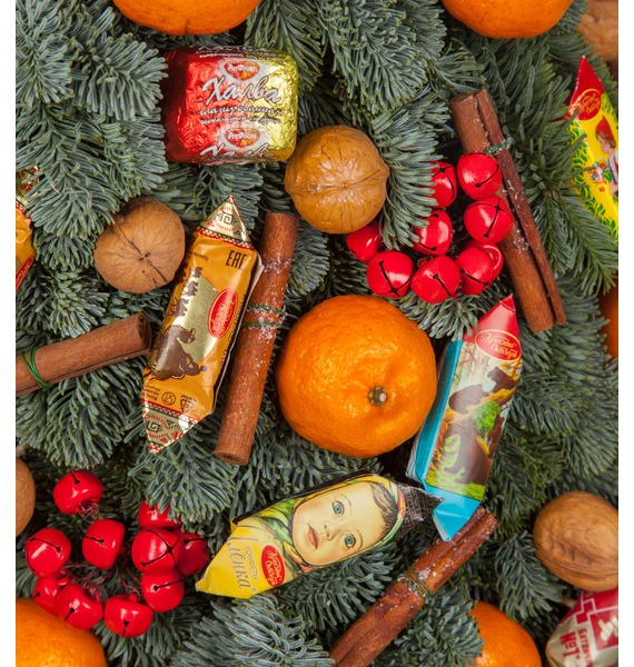 Ёлка Сладкий мандарин (35см, 80см, 150см) – фото № 3