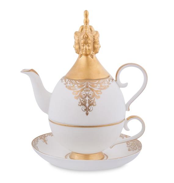 Чайный набор Гармония (Pavone) jp 147 17фигурка девочка pavone