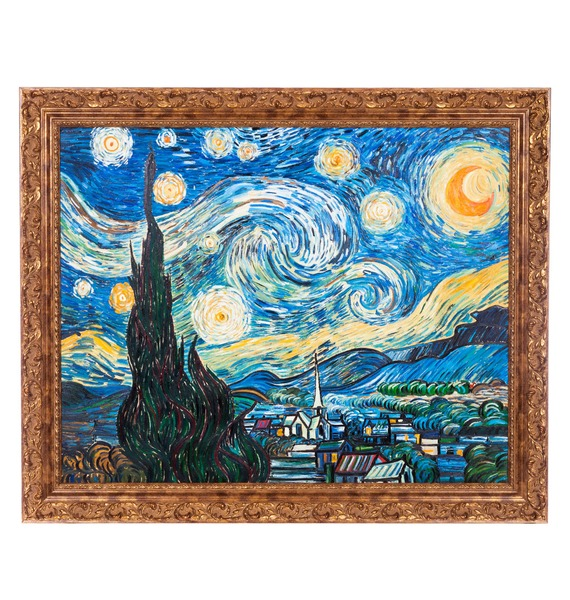 Картина В. Ван Гога Звёздная ночь (110х90см.) – фото № 1