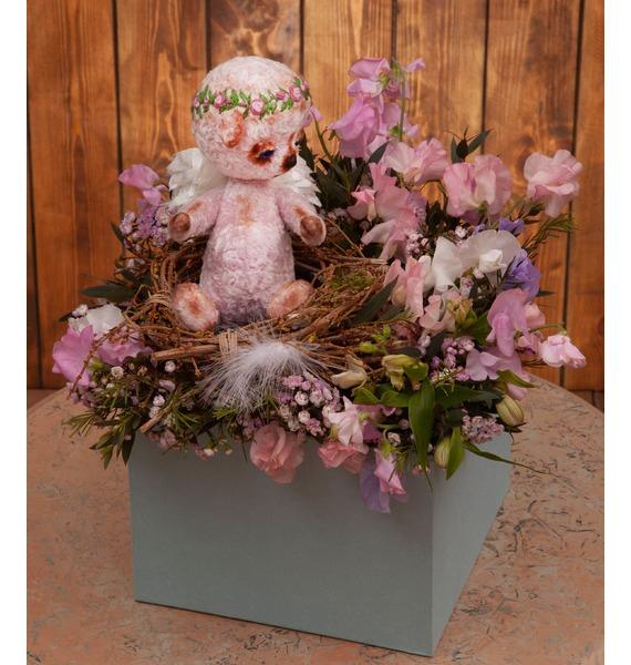 Фото - Подарочная коробка Милый ангелочек подарочная коробка ангел