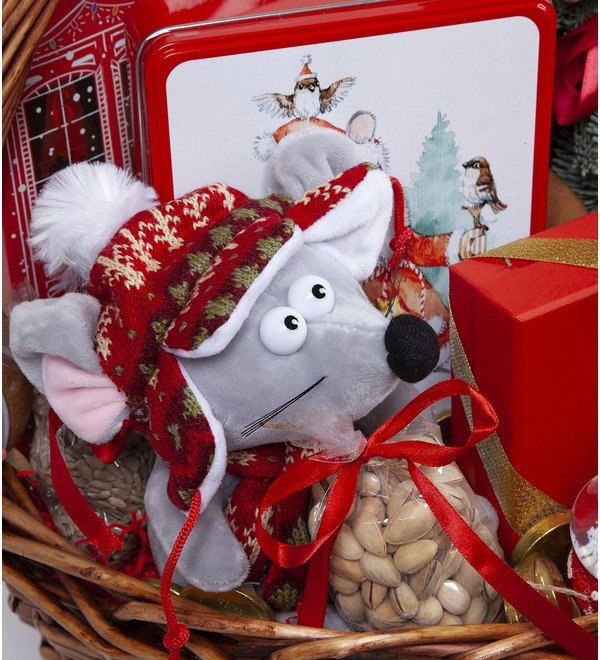 Подарочная корзина Подарки под ёлкой – фото № 2